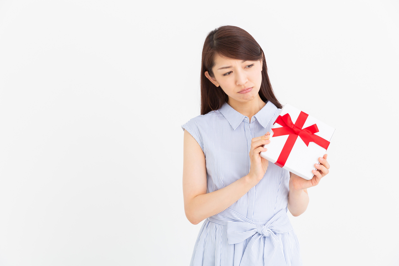 避けたほうがいいプレゼントを把握しているか