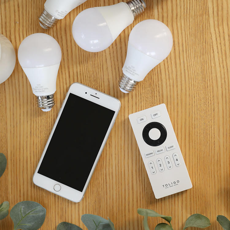 LEDスマート電球 TOLIGO