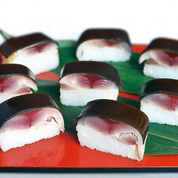 博多伝承「黄金さば寿司」