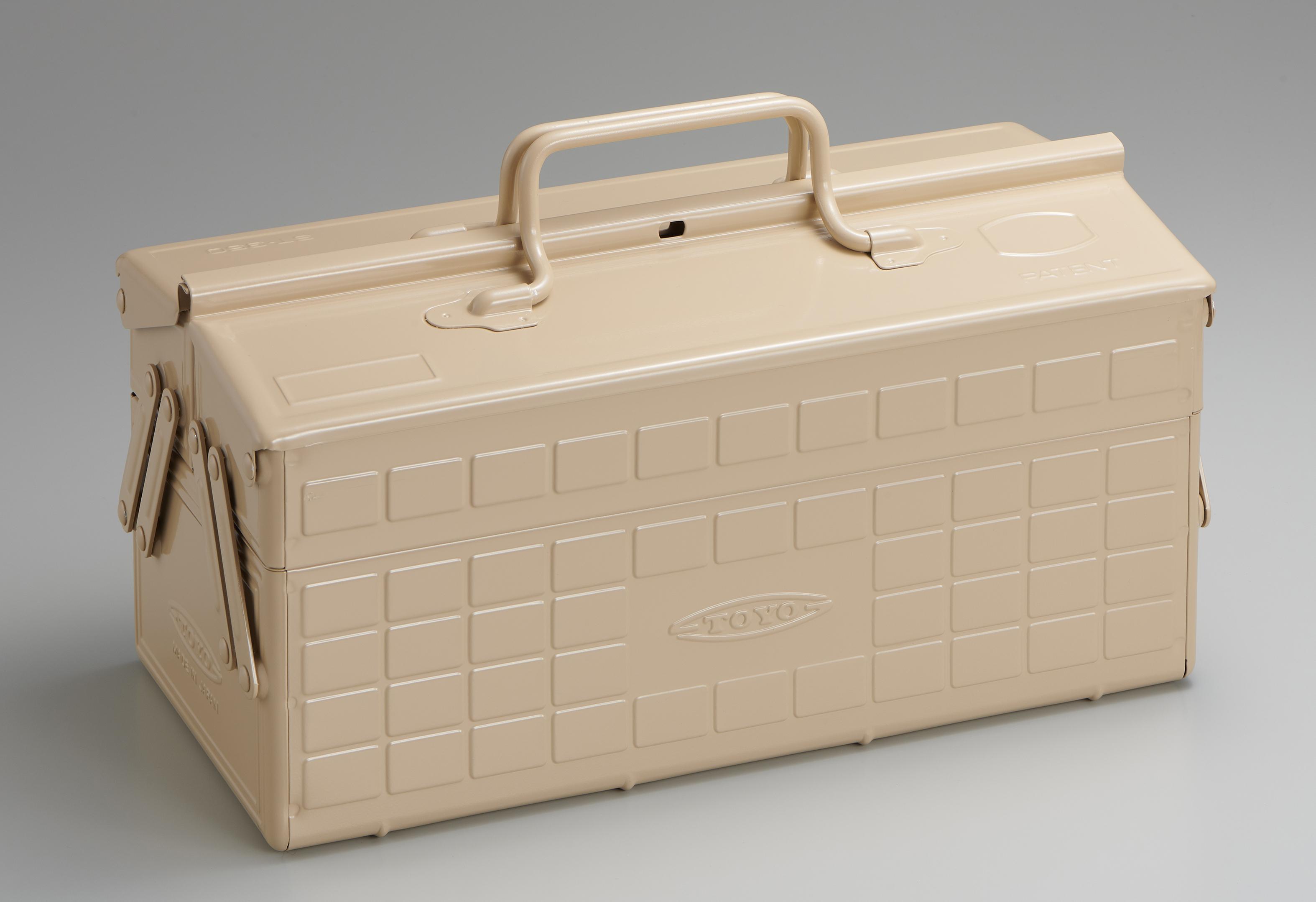 2段式工具箱 ST-350 BG (ベージュ)