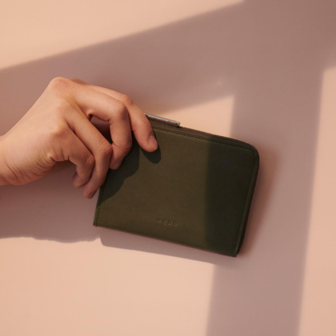 ヴァレンシア L字ファスナー財布