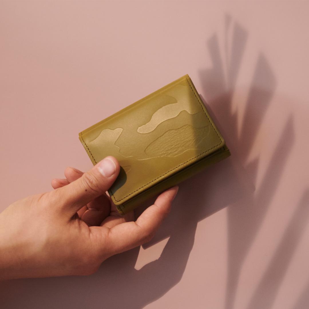 カモフラージュツリー 三つ折り財布